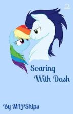 Soaring With Dash by MLPships