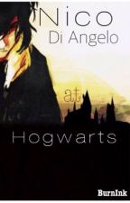 Nico Di Angelo at Hogwarts  by BurnInk