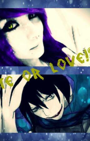 Hate Or Love!? ( Jeff The Killer Love Story) by K_Killer