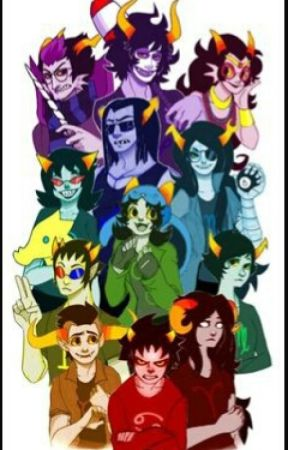 Stuck with the trolls (Homestuck Fanfiction) by mama_Ink_paw_