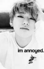 i'm annoyed ✲ l.c by takoyakei