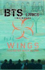 BTS Lyrics by ChimchimPanda