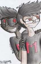 Darkiplier: Markiplier's Descent by EllaRistic
