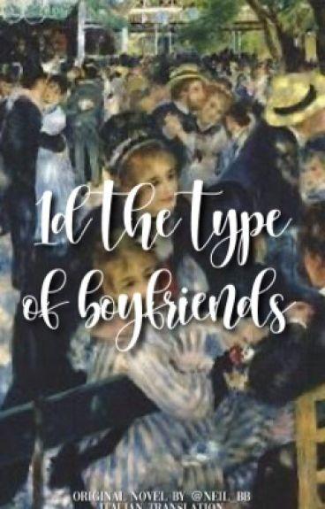 1D the type of boyfriends [traducción italiana]