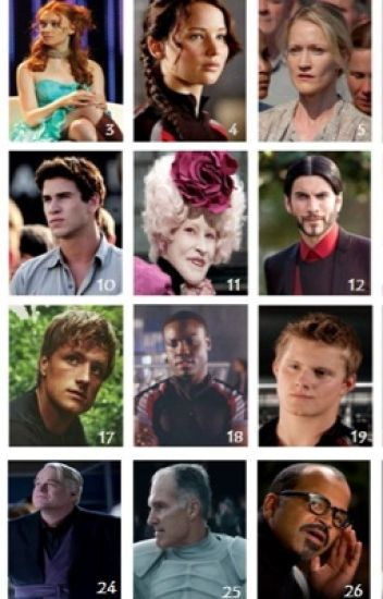 My Thoughts On The Hunger Games Characters One Direction Wattpad
