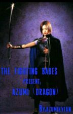 FIGHTHING BABES;azumi(dragon) by solitairekatana