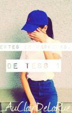Texte de rappeur,de tess. by AuClairDeLaRue