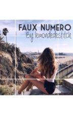 """""""Faux Numéro"""" by LeMondeDeStitch"""