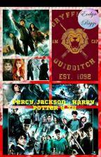 Entre Magos Y Semidioses  Percy Jackson, Harry Potter y Tu (Pausada)  by EvelynRiggsGrimes