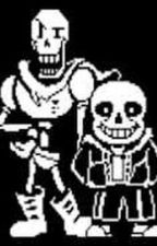 Papyrus X Sans(sorry not sorry) by antqueenmage