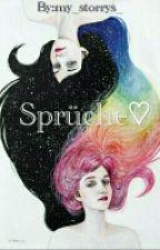 Sprüche♥<3 by AlicesWunderland