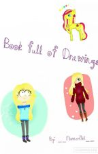 Book full of Drawings by PastellZombie