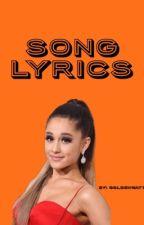 Song Lyrics  by goldenwatts
