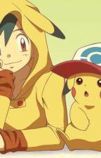 Ash X pikachu by _abby_rp_fangirl_