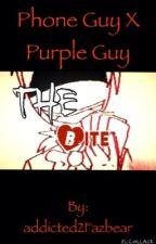 The Bite (Phone Guy X Purple Guy) by addicted2Fazbear
