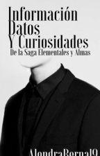 Información y personajes de la Saga Elementales y Almas y Oscuro y Dorado by AlondraBernal9