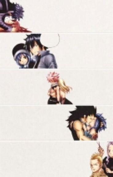 [Fairy Tail] [Nalu, Jerza, Miraxus, Gruvia] Tôi yêu em.