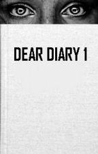 Dear Diary 1 by MissFixolas
