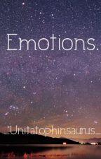 Emotions. by _Unitatophinsaurus_