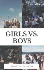 Girls vs. Boys by Iloveyouforever24