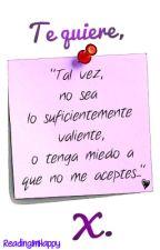 Te quiere, X. by ReadingImHappy