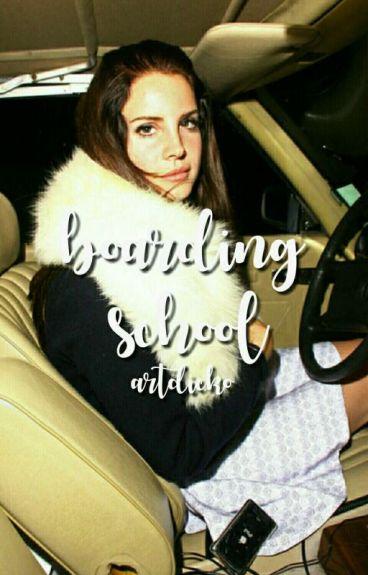 boarding school ♥ l.h.