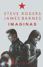 Steve Rogers / Bucky Barnes IMAGINAS. by virinervo