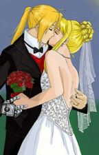 Ed and Miss Winry by vampiremisery