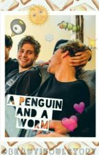 A Penguin and a Worm // Lashton by beautifoulstory