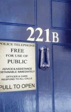Sherlock Holmes and the Adventure of the Blue Box (Wholock) by Captain_Crossover