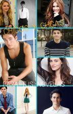Personajes para tus novelas by leena_mikaelson