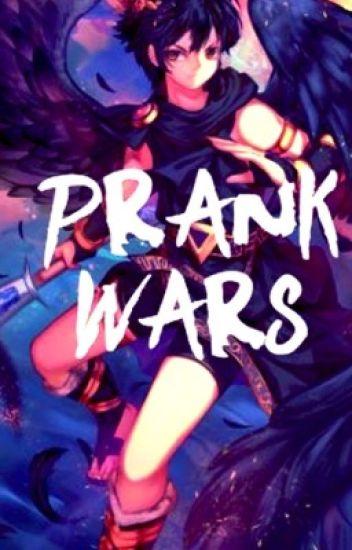 Prank Wars! (Dark Pit x reader)