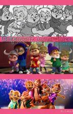 Chipmunks generations by Crazy_Cartoon_Lover