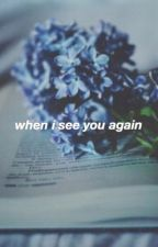 when i see you again// l.s short story by zorthedoor