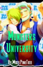 Monsters University (One-Shot) | Sully x Mike | by MiselPineTree