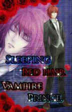 Sleeping Red-Hair  Vampire  Prince by BlackSkynight
