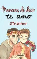 """Maneras de decir TE AMO"" (STEREK) by steinher"