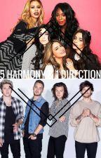 Fifth Harmony And One Direction by BriannaNacion