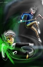 Jack Frost and Danny Phantom Spirit of Halloween by FireWolf13th