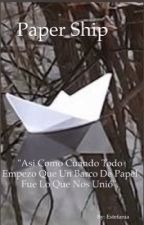 Paper Ship by Estefania_1704