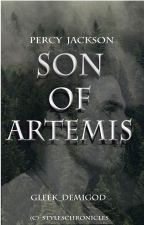 Percy Jackson son of Artemis by percy_kid_levi_2002