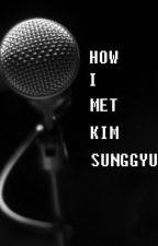 HOW I MET KIM SUNGGYU by mydailydose