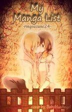 My manga list by ringsuzune24