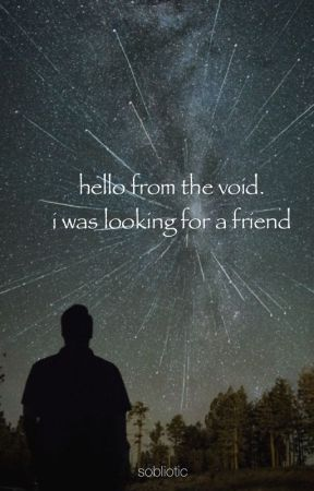 hello from the void by sobliotic