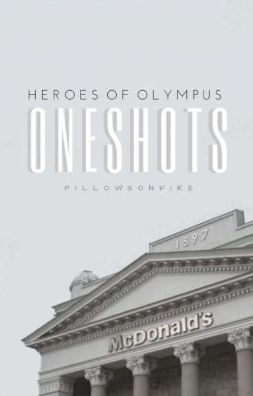 Heroes of Olympus Oneshots!!!