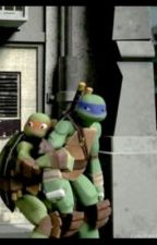 Clingy Mikey by nineturtlemates