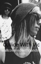 Collide With Vic (Vic Fuentes) by wallcoveredwithbands