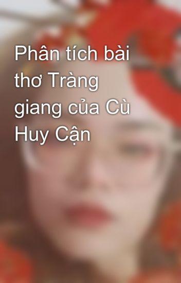 Đọc Truyện Phân tích bài thơ Tràng giang của Cù Huy Cận - Truyen4U.Net