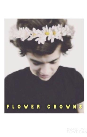 flower crowns ;; larry stylinson