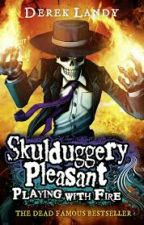 Skullduggery Pleasant: Playing With Fire by oh_low